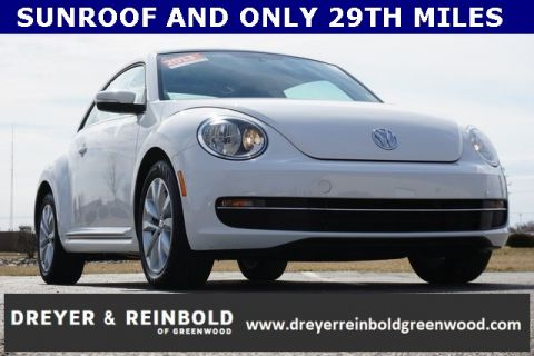 Certified Pre-Owned 2013 Volkswagen Beetle 2.0 TDI