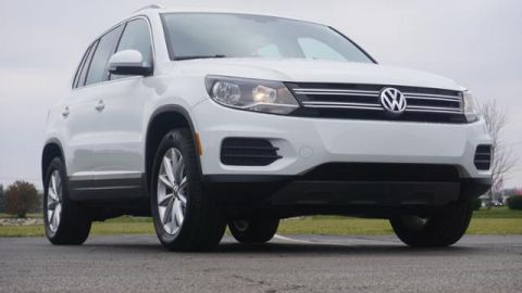 Certified Pre-Owned 2017 Volkswagen Tiguan 2.0T Wolfsburg Edition 4MOTION
